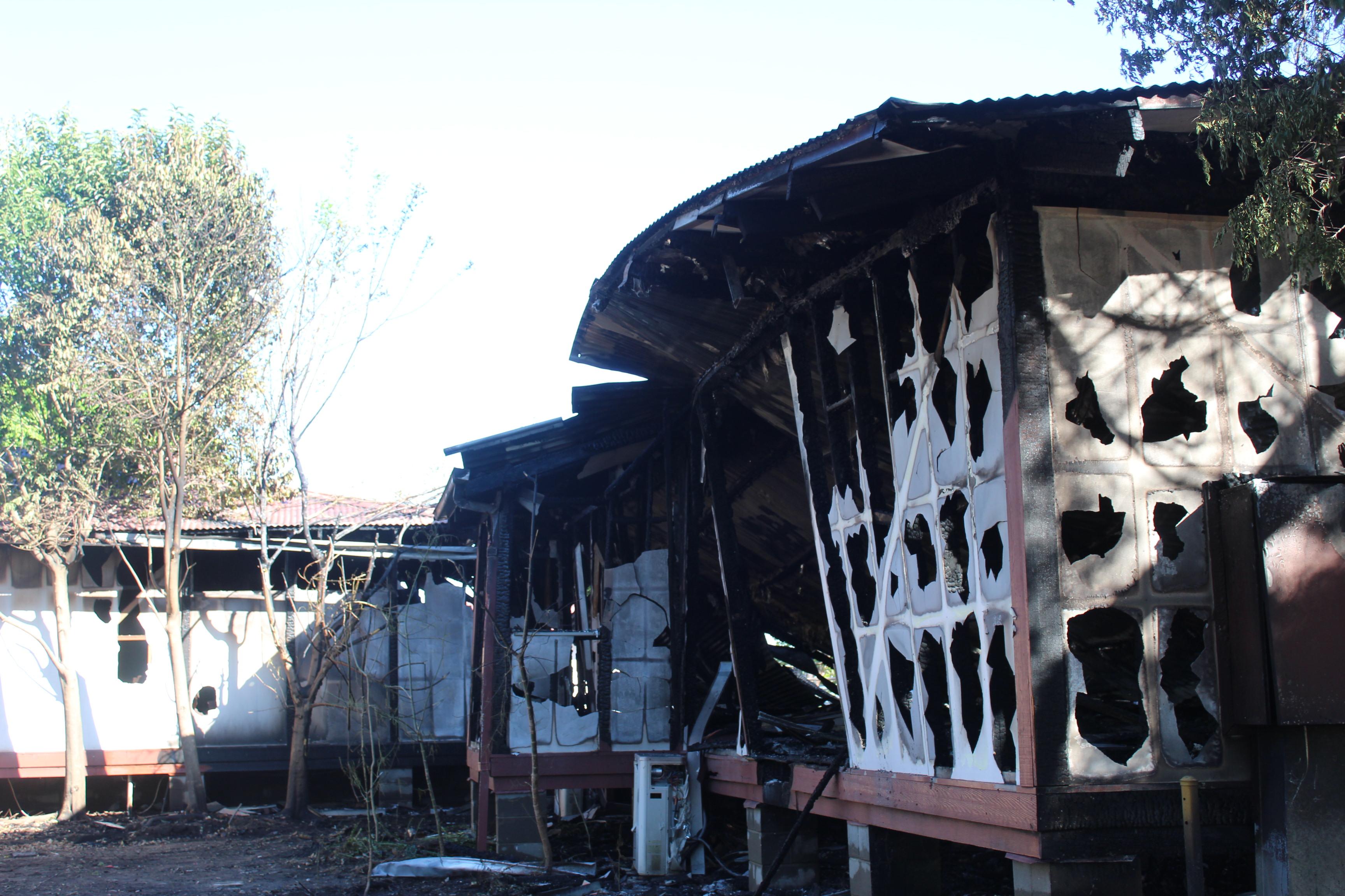Former Singleton primary school destroyed in blaze